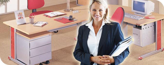Bandeaux mobilier pour les bureaux