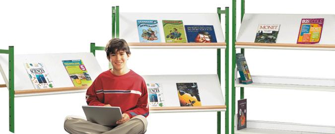 Bandeaux mobilier bibliothèques