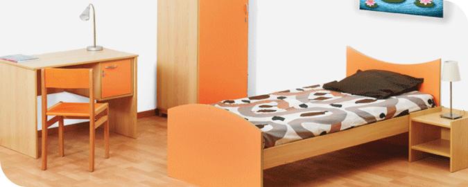 Bandeaux mobilier pour les dortoirs