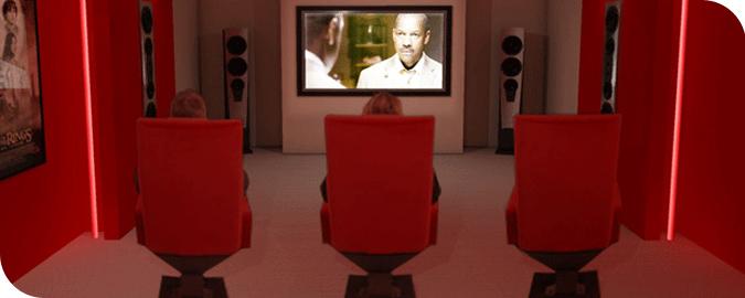 Bandeaux mobilier pour home cinéma