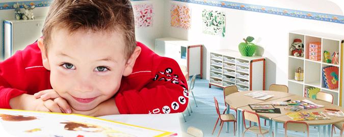 Bandeaux mobilier pour l'école maternelle